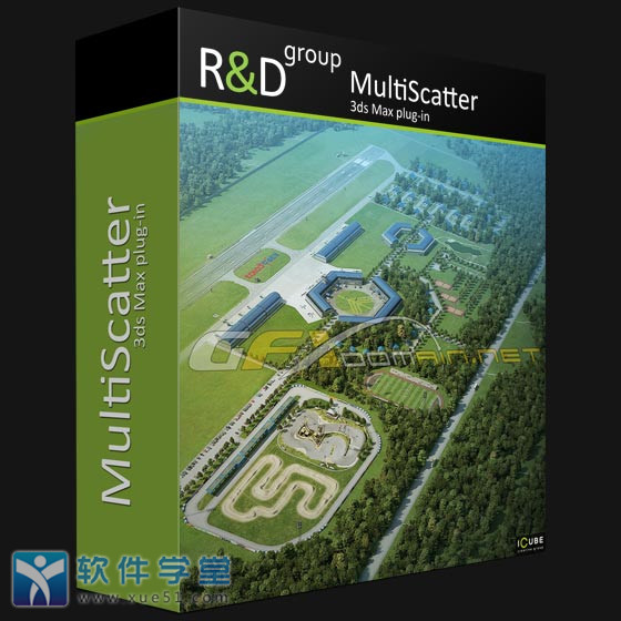 MultiScatter For 3ds Max 2014 to 2020破解版