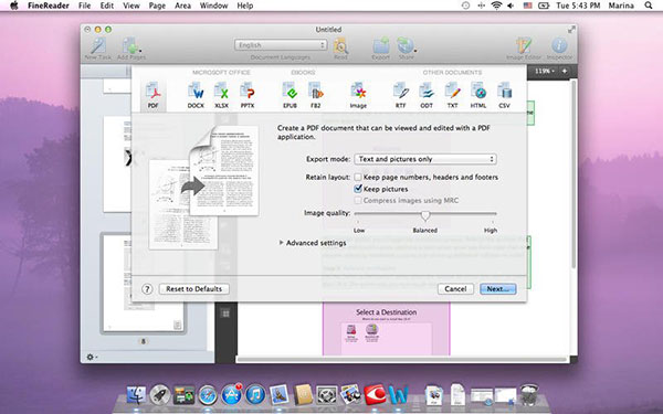 ABBYY FineReader 12 Pro Mac